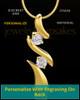 Gold Plated Endless Love Keepsake Jewelry