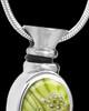 Silver Plated Green Fly Away Butterfly Keepsake Jewelry