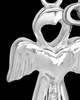 Sterling Silver July Heavenly Attendant Cremation Urn Pendant