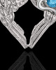 December Winged Memories' Sterling Silver Heart Cremation Pendant