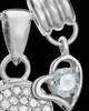 Sterling Silver April Soaring Spirit Cremation Urn Pendant