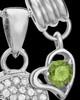 Sterling Silver August Soaring Spirit Cremation Urn Pendant