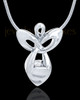 Sterling Silver Messenger of Love Cremation Urn Pendant