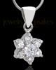 Sterling Silver Burst of Light Cremation Urn Pendant