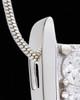 Silver Vigilance Cremation Urn Pendant