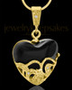 Gold Plated Bundled Heart Keepsake Jewelry