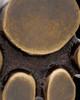 Brass Petite Paw Cremation Pendant