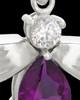 Sterling Silver Lavender Lovely Messenger Urn Keepsake