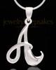 """Sterling Silver """"A"""" Keepsake Jewelry"""