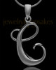 "Black Plated ""C"" Keepsake Jewelry"