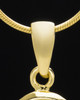 "Gold Plated ""E"" Keepsake Jewelry"