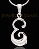 "Sterling Silver ""E"" Keepsake Jewelry"