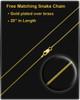 "Gold Plated ""H"" Keepsake Jewelry"
