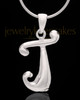 "Sterling Silver ""J"" Keepsake Jewelry"
