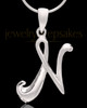 "Sterling Silver ""N"" Keepsake Jewelry"