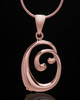"Rose Gold Plated ""O"" Keepsake Jewelry"
