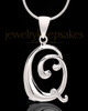 "Silver Plated ""Q"" Keepsake Jewelry"