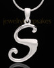 "Sterling Silver ""S"" Keepsake Jewelry"
