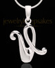 "Silver Plated ""U"" Keepsake Jewelry"