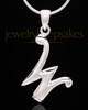 "Sterling Silver ""W"" Keepsake Jewelry"