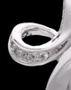 Sterling Silver October Fluid Cross Keepsake Jewelry