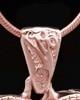 Rose Gold Plated Noble Heart Keepsake Jewelry