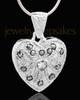Sterling Silver Noble Heart Keepsake Jewelry