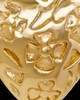 Gold Plated Spooled Heart Keepsake Jewelry