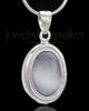 Silver Plated Blush Love Keepsake Jewelry