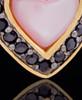 Gold Plated Sunset Heart Keepsake Jewelry