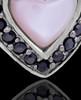 Sterling Silver Sunset Heart Keepsake Jewelry