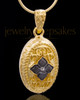 Gold Plated Faithfulness Keepsake Jewelry