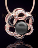 Rose Gold Plated Bound Together Keepsake Jewelry