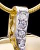 Gold Plated Weeping Heart Keepsake Jewelry