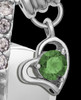 Sterling Silver May Weeping Heart Keepsake Jewelry
