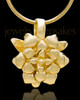 Gold Plated Blossomed Keepsake Jewelry