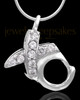Sterling Silver Hugs and Kisses Keepsake Jewelry