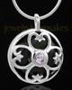 Silver Plated Clover Heart Keepsake Jewelry