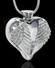 Stainless Steel Clear Fond Emotions Jewelry Keepsake