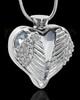 Stainless Steel Clear Fond Emotions Jewelry Keepsake