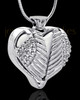 Stainless Steel White Fond Emotions Jewelry Keepsake