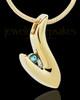 Gold Plated Select Urn Keepsake Jewelry