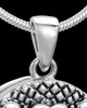 Sterling Silver Praise Cremation Urn Pendant