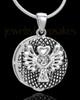 Sterling Silver Praise Cremation Urn Pendant