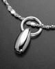 Luxury Natural Tear Sterling Cremation Bracelet