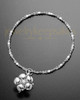 Luxury Blooming Sterling Cremation Bracelet