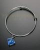 Sophisticate Blue Fascination Cremation Bracelet