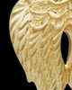 Urn Pendant Gold Plated Angel Wings Keepsake