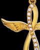 Gold Sterling Silver Glorified Cremation Jewelry