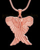 Rose Gold Sterling Silver Virtuous Jewelry Urn